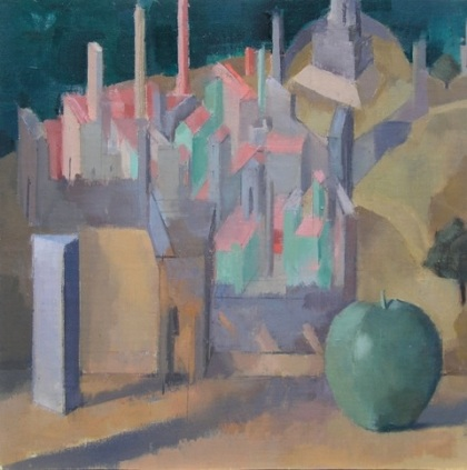 1.Carey-Green Plastic Apple, City by the Sea