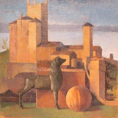 2. Carey-Bellini Landscape with Deer