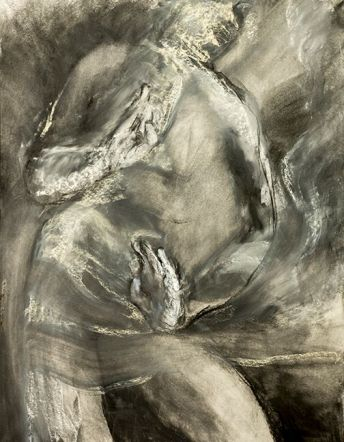 dancer-13-2016-charcoal-chalk-on-paper-40x30