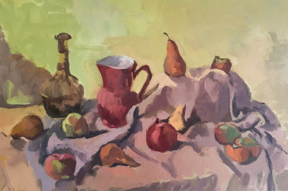 tornay_apples-and-pears-2016-oc-28x24