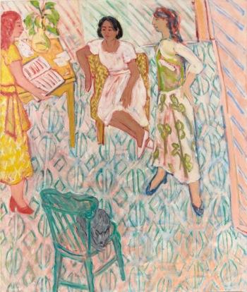 01 Grossman Green Chair